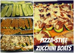 Reviews, Chews & How-Tos: Pizza-Style Stuffed Zucchini Boats