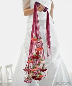 Trending Hanging Carnation Bouquet