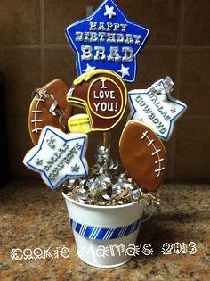 Dallas Cowboys Birthday! Cookie Mama's  2013