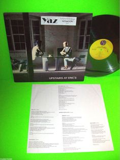 Yazoo – Upstairs At Eric's Vintage Vinyl LP Album Synth-pop 1982 Rare Version #ElectronicaSynthPop