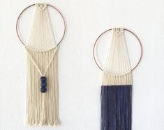 Dreamcatcher wall hanging macrame weaving tapestry decoration deco suspension macrame
