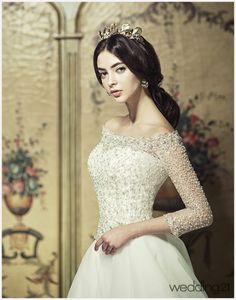 [웨딩드레스] 우아하고 사랑스러운 2014 S/S 드레스 컬렉션...클라라웨딩 < 웨딩뉴스 < 월간웨딩21 웨프