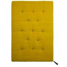 Futon quilt - Mustard yellow