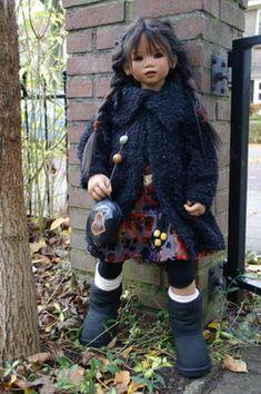 Himstedt Kinder 2008 - collectors world Setina Marjolein Reborn Dolls, Reborn Babies, Big Eyes Artist, Annette Himstedt, Bible Study For Kids, Rainbow Nails, Vinyl Dolls, Pretty Baby, Beautiful Dolls