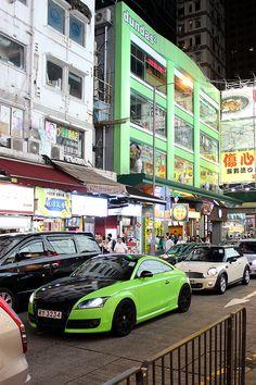 Mong Kok neon signs