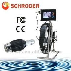 Schroder professional sewerage pipeline cloaca cctv inspection camera SD-1050II