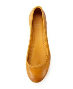 where have these been all my life... curry ballet flats by frye