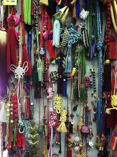 .Gwangjang Market in Seoul: Maedeup shop.