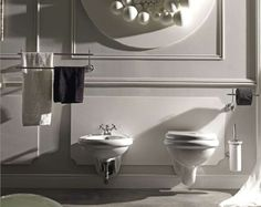 Kerasan retro miska wisząca WC
