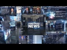 Corporate News Broadcast Full Package Free After Effects Project Template - YouTube