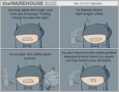 Batman Brand Dark Knight Coffee