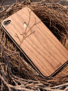 bird on a branch iphone case.. looks amazing