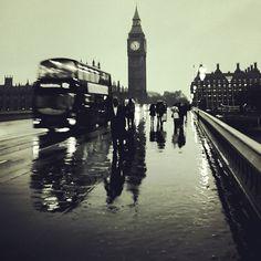 London was pretty Wet & Wendy today @annieyeah @jolworldwide