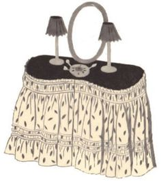Vanities Skirts And Seat Covers On Pinterest