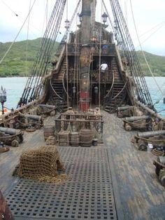 Tall Ship Upper Deck