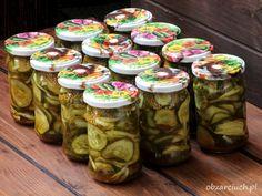 Pickles, Cucumber, Mason Jars, Curry, Food And Drink, Diet, Polish Food Recipes, Bulgur, Curries