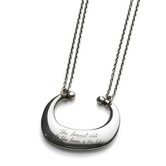 jeanine payer necklace.  Choose a line of poetry.
