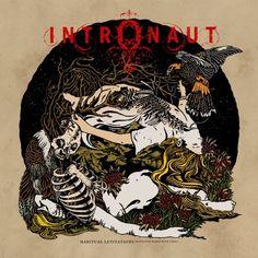 Intronaut 2013 album art