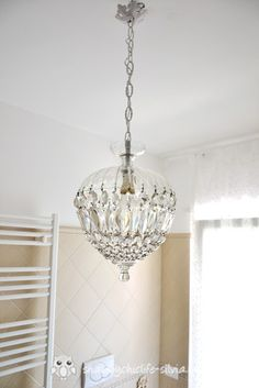 Round rustic antique white shabby chic chandelier 3 lights thinking chandelier shabby chic aloadofball Gallery