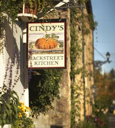 Cindy's Backstreet Kitchen - St. Helena, Napa Valley. Owned by Cindy Pawlcyn.  http://cindysbackstreetkitchen.com/