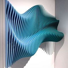 We deal with interior design of both private and commercial spaces and approach each project with an open mind to create something beautiful Wooden Wall Art, Wooden Walls, Parametric Design, Acoustic Panels, Wood Design, Installation Art, Sculpture Art, Paper Art, Furniture Design