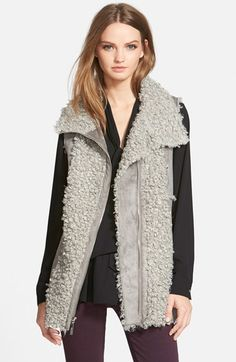 kensie+Faux+Shearling+Vest+(Online+Only)+available+at+#Nordstrom