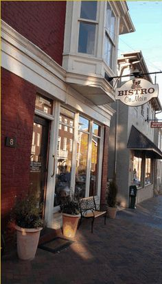 Bistro on Main, Lexington, VA ... Great little place for lunch!