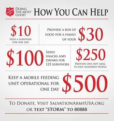 Your Continued Generosity And Support Makes A Real Difference   This  Infographic Shows Just How Far Your Donation Goes In The Wake Of A Disaster.
