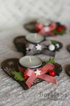 candele segnaposto