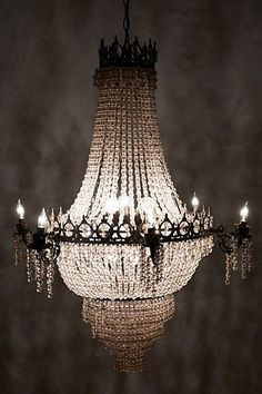Tea Empire Chandelier - anthropologie.com #anthrofave