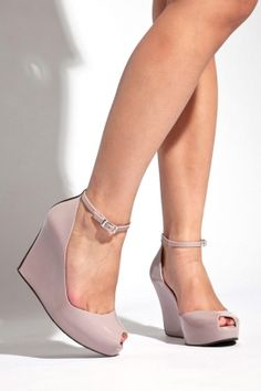 660250ae237 pretty Ankle Strap Wedges