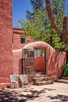 Patio Welcome New Mexico