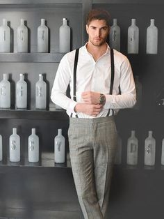 Suspenders [braces] are making a statement  for Mens Fashion for 2013