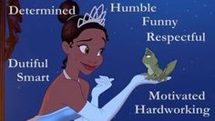 Princess Tiana's Personality