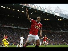 Anthony Martial debut goal  Manchester United 3-1 Liverpool 12/9/2015