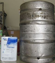 Going to the Source to Learn Home Brewing Brewing Recipes, Homebrew Recipes, Home Brewery, Home Brewing Beer, Keg Table, Home Distilling, Brewery Equipment, Beer Keg, Beer Cans