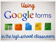 Using Google Forms in the Classroom by Teaching High School Math!