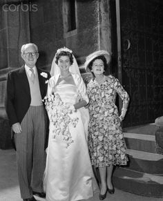 Wedding of Jean Kennedy Smith | Jean Ann Kennedy with Her Parents on Her Wedding Day - U1313591INP ...