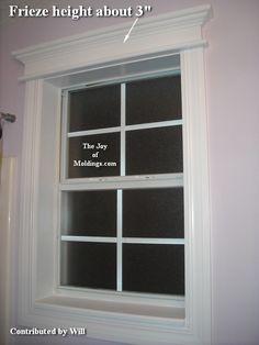 Window trim idea