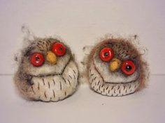 Делаем валяных совушек-ерошеки - Ярмарка Мастеров - ручная работа, handmade