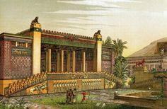 Persepolis T Chipiez - Achaemenid architecture - Wikipedia, the free encyclopedia
