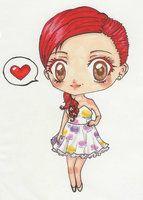ariana grande cartoon | Ariana Grande Chibi by MatisseLack