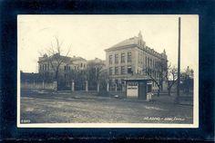 Kladno Trafik Mit Tabak Doutniky vor Der Schule Seltene Karte Von CA 1930 | eBay