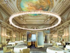 Alain Ducasse à l'Hôtel de Paris, Monte Carlo Firm: Jouin Manku Project Team: Bénédicte Bonnefoi; Bruno Pimpanini; Andy Migevant.