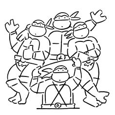 Yu Nagaba / Teenage Mutant Ninja Turtles