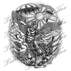 Saint Michael patron saint of law enforcement and the military. Tattoo one day