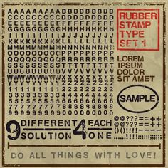 #wallpaper - Rubber Stamp - rebelwalls.com