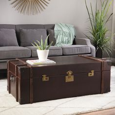 Merveilleux Enhance Your Home, Living Or Bed Decor With The Uniquely Styled Journey Trunk  Coffee Table. With A Soft, Durable Cover And Spacious Interior, This  Timeless ...