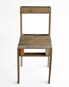 Viejos pallets, nueva silla