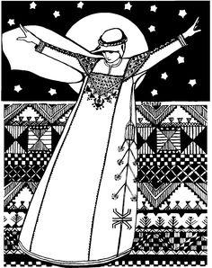 105 Syrian Dress – Folkwear